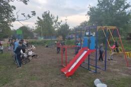 Новий дитячий майданчик у мікрорайоні «Черемушки» за кошти «Громадського бюджету»