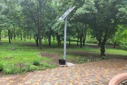За кошти «Громадського бюджету» встановлено «Сонячне дерево»