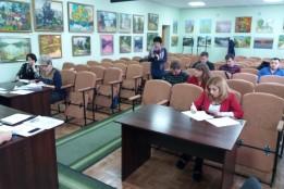 Засідання Номінаційного комітету щодо оцінки отриманих проектів