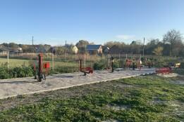 У Білогорщі завдяки громадському бюджету з'явився «Сімейний простір на Лаврівського»