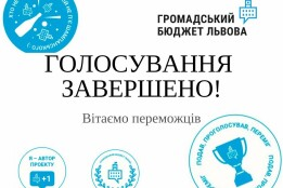 Громадський бюджет Львова 2020-2021: результати!