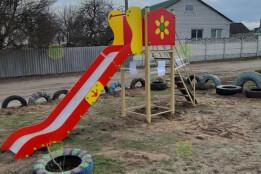 Проєкт «Облаштування дитячого майданчика по вулиці Прусянській у м. Мерефа» реалізовано