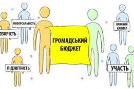 Сформовано список проектів громадського бюджету для голосування