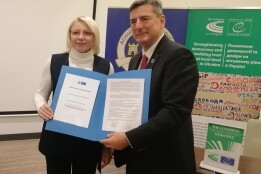 Підписано Меморандум про співпрацю Сумської міської ради та Конгресу місцевих та регіональних влад Ради Європи