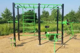 У Яворові облаштували новий спортивний майданчик